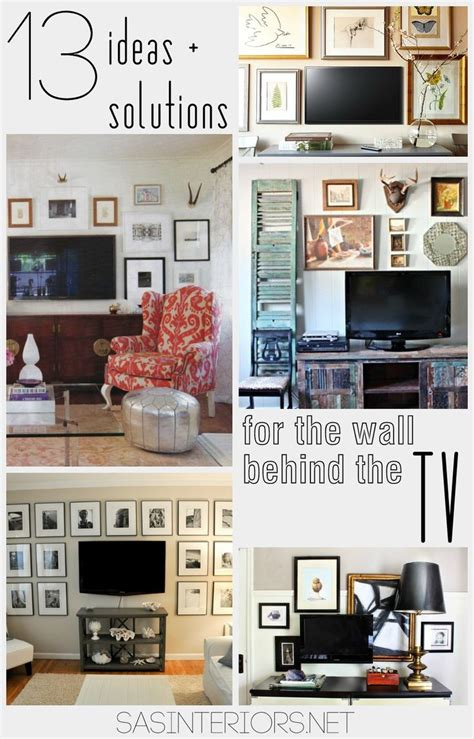 decorating walls ideas best 25 wall behind tv ideas on pinterest cup of small
