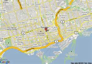 map of courtyard by marriott toronto downtown toronto
