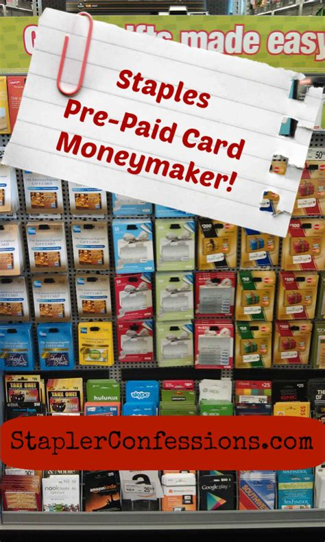 Can I Pay Online With A Visa Gift Card - staples week of june 15 visa card moneymaker stapler confessions