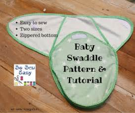 free baby swaddle pattern easy tutorial sewing 4 free