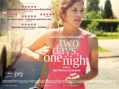 french film one day two nights 187 watch two days one night trailer with marion cotillard