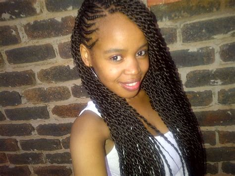 12years old hairstyels with weave beautiful long twists with side cornrows love it this