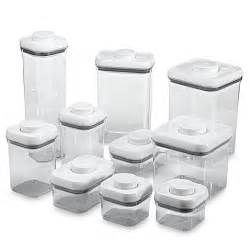 Glass Kitchen Canisters Airtight oxo good grips 174 10 piece food storage pop container set