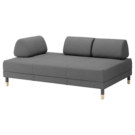 grey sofa ikea flottebo sofa bed lysed dark grey 120 cm ikea