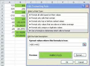 Quot Conditionals | microsoft excel 2010 how can i express quot if column a is