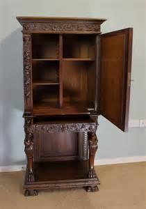 Cabinet Dealers by Antique Walnut Side Cabinet Antiques Atlas