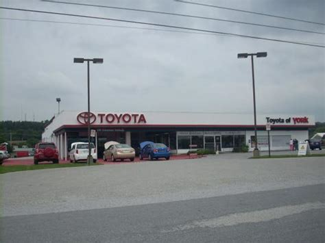 Toyota Dealerships In Pa Toyota Of York York Pa 17402 Car Dealership And Auto