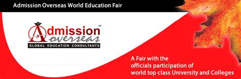 Thompson Rivers Mba Admission Requirements by Admission Overseas World Education Fair