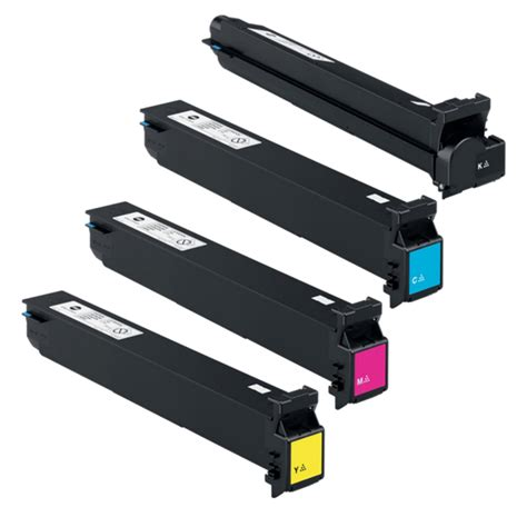 konica minolta bizhub c353 color toner set oem overnight ink