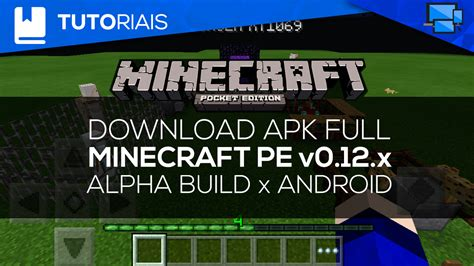 minecraft pe free android minecraft pe v0 12 1 alpha build 2 apk free android android br