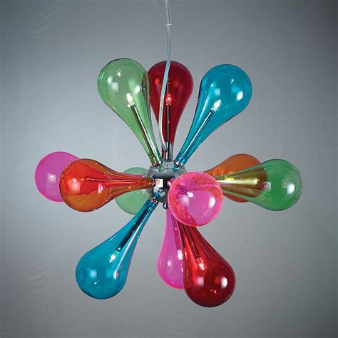 Coloured Glass Ceiling Lights Endon Niven 9multi 9 Light Ceiling Fitting With Multi Coloured Glass Shades