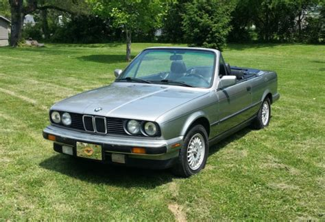 1988 bmw 325i convertible 1988 bmw e30 325i convertible with factory hardtop and