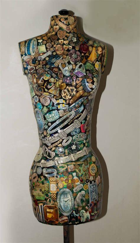 Decoupage Mannequin - decoupage dressforms mannequins