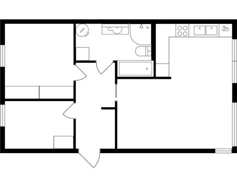 simple 2d floor plan software simple floor plan small house plans modern