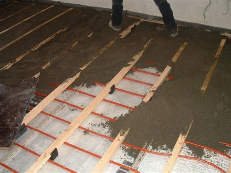 In Floor Heating by Expense Of Mats