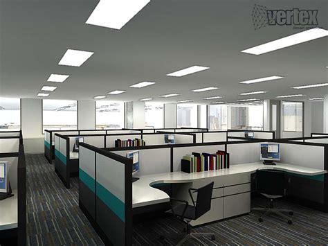 layout ruang kantor terbuka kantor vertexsite