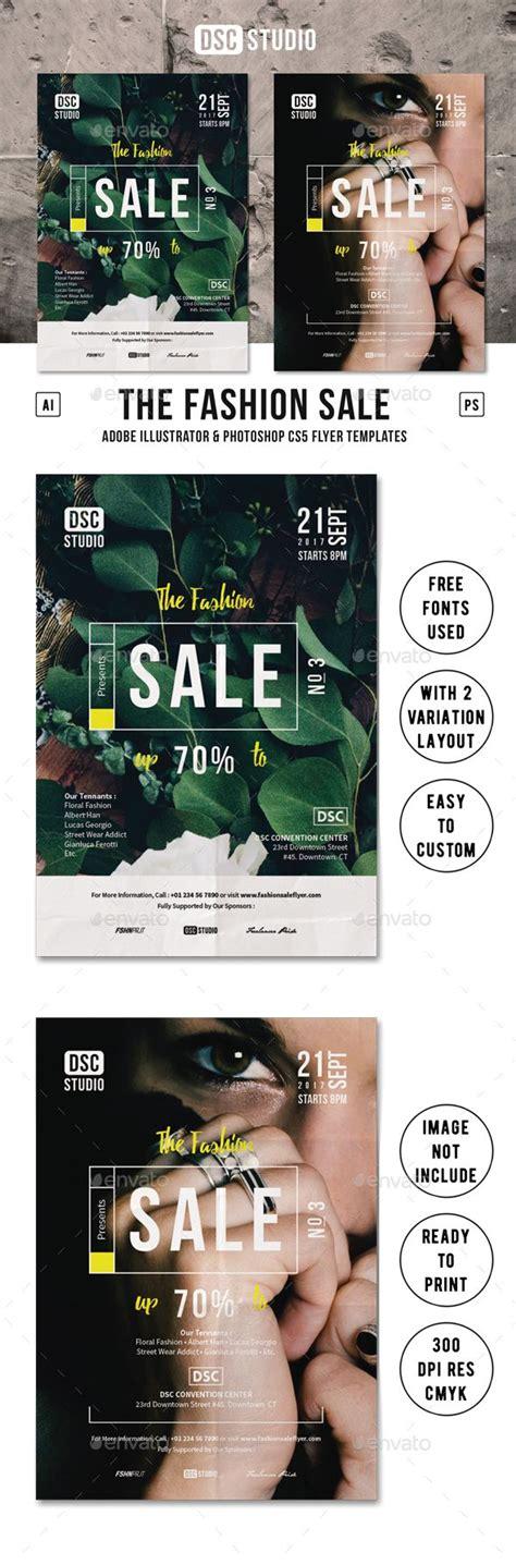 event layout sle fashion sale flyer 포스터 디자인 편집 디자인 및 포스터