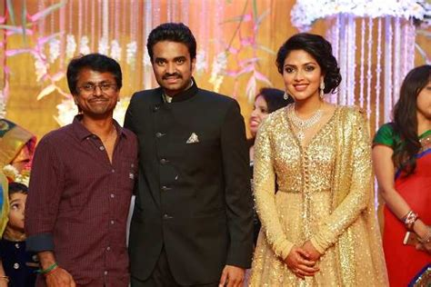 hot chips raipur amala paul and vijay at their wedding reception at mayor