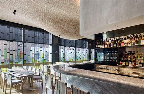 designboom london fucina restaurant in london features a bulbous brick ceiling