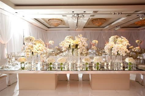Mirror Wedding Table Decoration