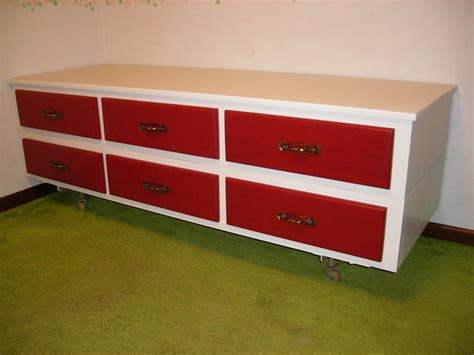 Repurposed Bedroom Furniture Great Plan To Recycle Our 12 Drawer Waterbed Frame To Needed Dressers Things For Home Inside