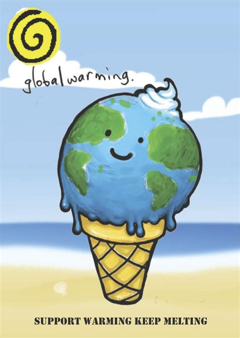 membuat poster global warming globalwarming illustration earth planet stop global