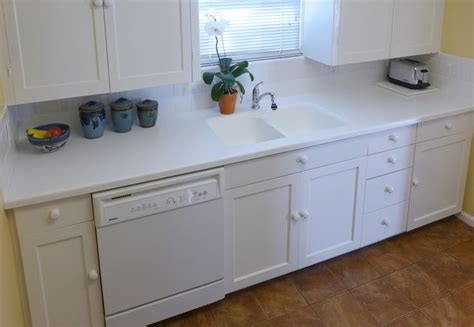 Solid Surface Countertops Utah by Arctic White Corian Kitchenette Countertop With An