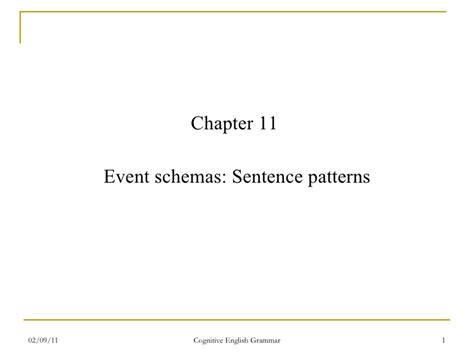 sentence pattern for he was excited ceg chapters 11 12