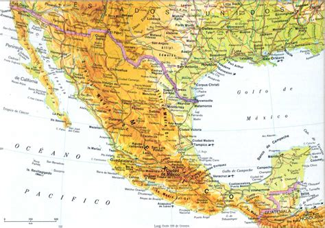 geografia de mexico mapa del golfo de mexico con nombres