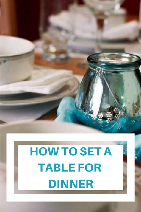 how to set a table for dinner how to set a table for dinner image titled set a dinner