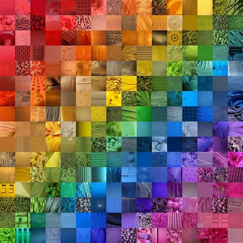 color collage 25 best ideas about photo collage canvas on