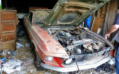 rusty pony  mustang mach