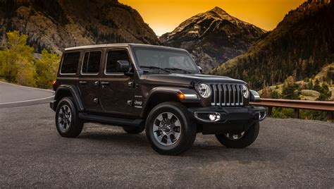 jeep wrangler unlimited 2018 2018 jeep wrangler unlimited pricing starts at 30 445