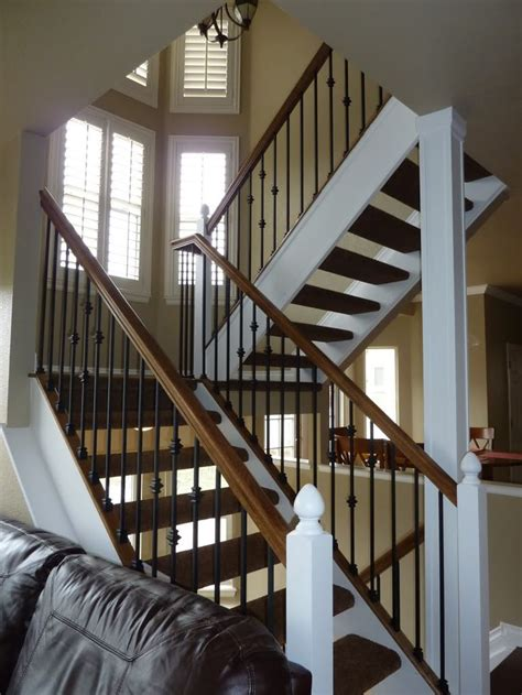 Staircase Banister Open Staircase Google Search Next Home Pinterest