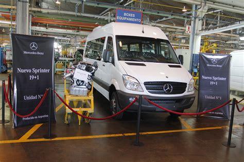 Daimler Meine Bewerbung Login Daimler Startet Produktion Des Sprinter In Argentinien Magazin Auto De