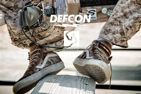 Vans Oldschool Defcon defcon x vans syndicate digital camo collaboration soldier systems daily