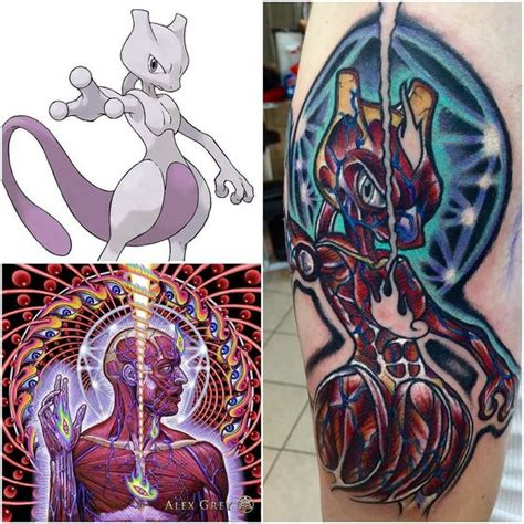 mewtwo tattoo on point ideas featuring mewtwo