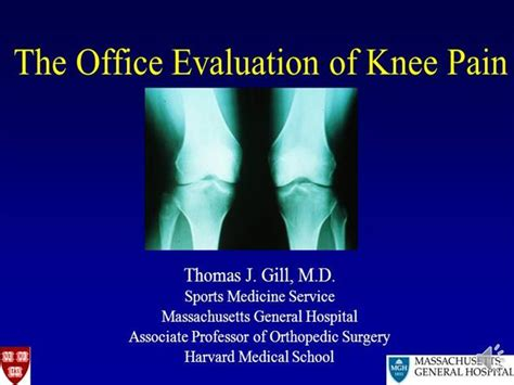 powerpoint templates knee gill knee pain comprehensive necoem 2012 recorded