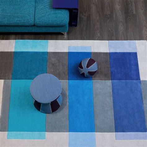 Tapis Arte Espina by Tapis Design Gris Et Bleu Par Arte Espina