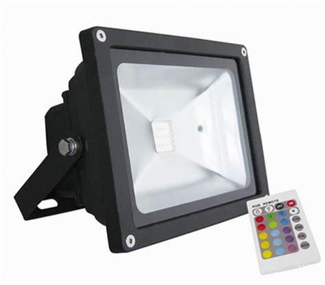 outdoor led lights with remote 3000k 6500k outdoor rgb led flood light remote
