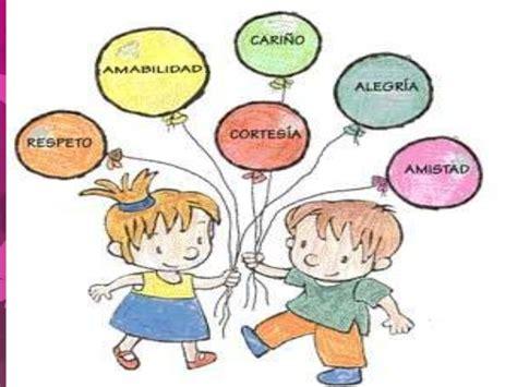 imagenes infantiles que representen los valores los valores en la educaci 243 n infantil