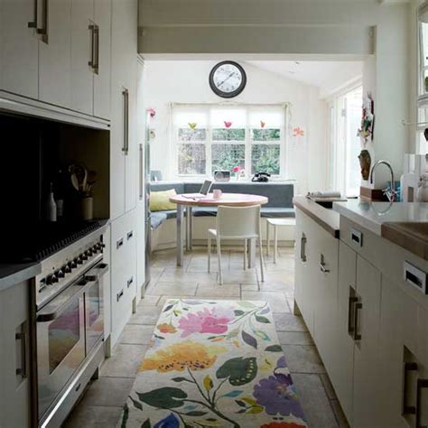 galley kitchen extension ideas banquette seating can increase your mood kris allen daily