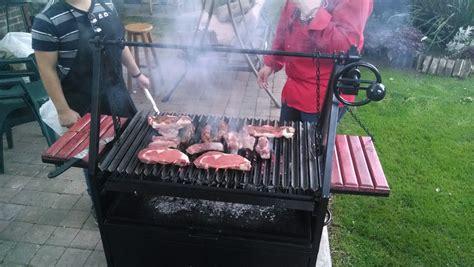 asadores de carne al carbon tipo parrilla argentina