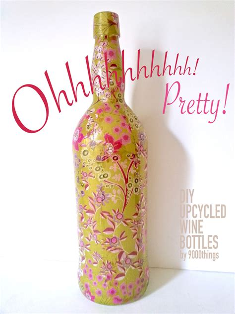 tutorial decoupage botol diy decoupage bottle kit instructions 183 9000things