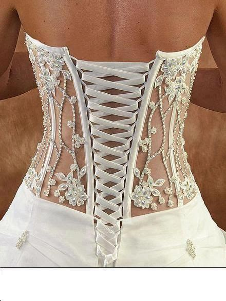 So beautiful! Does it just have to be on a wedding gown