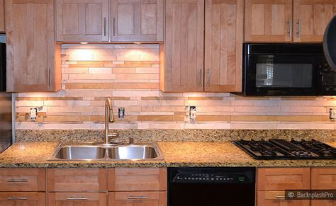 subway mosaic travertine backsplash idea backsplash