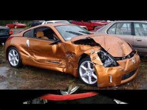 wrecked car wrecked cars youtube