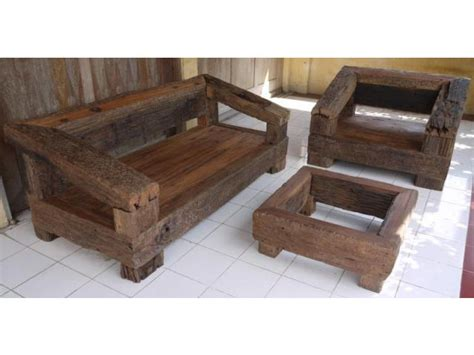 Handcrafted Furniture Melbourne - railway sleepers grade a