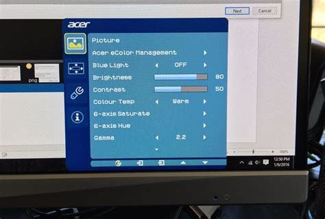 how to reset an acer lcd monitor techwalla com how to calibrate your monitor in windows and os x