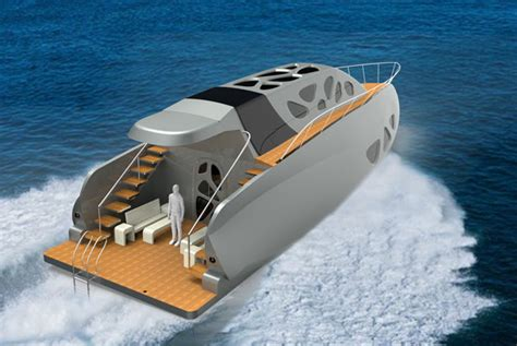 modern fishing boat in india design of a futuristic yacht for elite class in india by